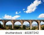 Old Brick Railway Bridge In...