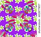 optical illusion. illustration... | Shutterstock . vector #602877857