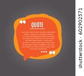 inspirational quote | Shutterstock .eps vector #602902571