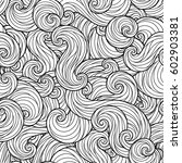 raster illustration. seamless... | Shutterstock . vector #602903381