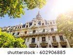 art nouveau classical... | Shutterstock . vector #602906885