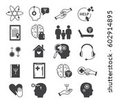 big set symbols of... | Shutterstock .eps vector #602914895