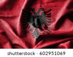 albania cotton flag | Shutterstock . vector #602951069
