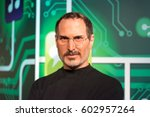 Small photo of ISTANBUL, TURKEY - MARCH 16, 2017: Steve Jobs wax figure at Madame Tussauds wax museum in Istanbul. Steve Jobs was the co-founder, chairman, and chief executive officer of Apple Inc.