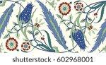 floral ornamental pattern....