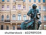 monument of peter the great... | Shutterstock . vector #602989334