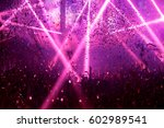 silhouette crowd people use... | Shutterstock . vector #602989541