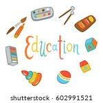 items for children's education. ...