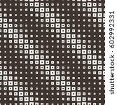 seamless halftone square... | Shutterstock .eps vector #602992331