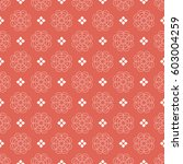 abstract seamless pattern in... | Shutterstock .eps vector #603004259