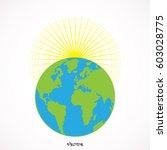 earth vector illustration   Shutterstock .eps vector #603028775