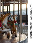 Children\'s Carousel With Horse...