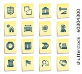 building web icons  yellow... | Shutterstock .eps vector #60304300