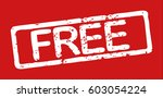 "stamp with word ""free""  grunge... 