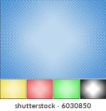 halftone backgrounds | Shutterstock .eps vector #6030850