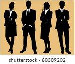 business people   Shutterstock .eps vector #60309202