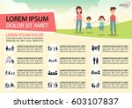 poster activities family icons.   Shutterstock .eps vector #603107837