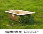 Dirty Old Bath Tub Abandoned I...