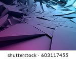 abstract 3d rendering of... | Shutterstock . vector #603117455