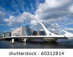 The Samuel Beckett Bridge In...