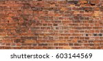 Old Orange Wall Bricks As...