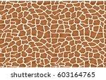 giraffe texture pattern... | Shutterstock .eps vector #603164765
