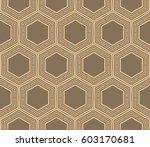 modern geometric seamless... | Shutterstock .eps vector #603170681