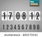 white countdown timer with... | Shutterstock .eps vector #603173141