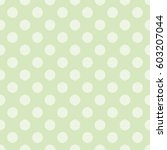 seamless polka pattern with...   Shutterstock .eps vector #603207044
