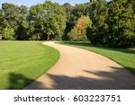 path through the park | Shutterstock . vector #603223751