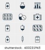vector illustration of 12... | Shutterstock .eps vector #603231965