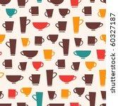 coffee mug pattern   Shutterstock .eps vector #60327187