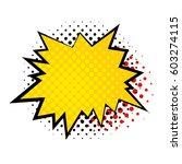 star bubble comic style vector...   Shutterstock .eps vector #603274115