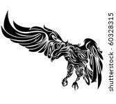 tribal eagle by roberto ojeda | Shutterstock .eps vector #60328315