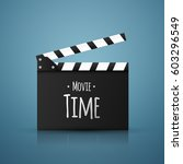 Movie Time Vector Background....