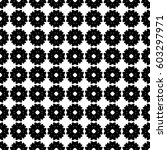vector seamless pattern. simple ... | Shutterstock .eps vector #603297971
