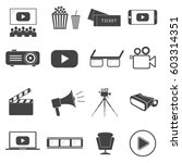 set of vector icon graphic for... | Shutterstock .eps vector #603314351