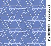 vector pattern. geometric... | Shutterstock .eps vector #603316331