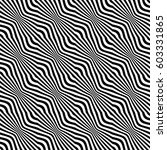 geometric seamless pattern.... | Shutterstock .eps vector #603331865