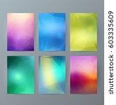 design elements presentation... | Shutterstock .eps vector #603335609