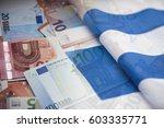 Greek Flag  Credit Card And...