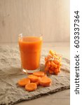 the fresh carrots  carrots... | Shutterstock . vector #603337364
