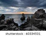 Rocks In The Black Sea Coast