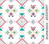 geometric seamless pattern with ...   Shutterstock .eps vector #603355097