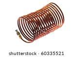 cooper tubing coil | Shutterstock . vector #60335521