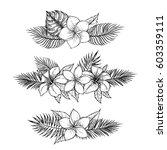 hand drawn vector illustrations ... | Shutterstock .eps vector #603359111