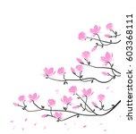 vector illustration pink...   Shutterstock .eps vector #603368111