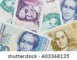 German Banknotes. Deutche Mark...