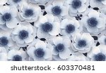 vector seamless pattern with... | Shutterstock .eps vector #603370481