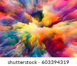 color explosion series.... | Shutterstock . vector #603394319